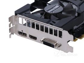 映众GTX 1050黑金至尊版显示输出接口