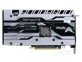 蓝宝石RX 470D 4G D5 超白金 OC背面
