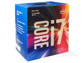 Intel 酷睿i7 7700 四核八线程  大型游戏推荐