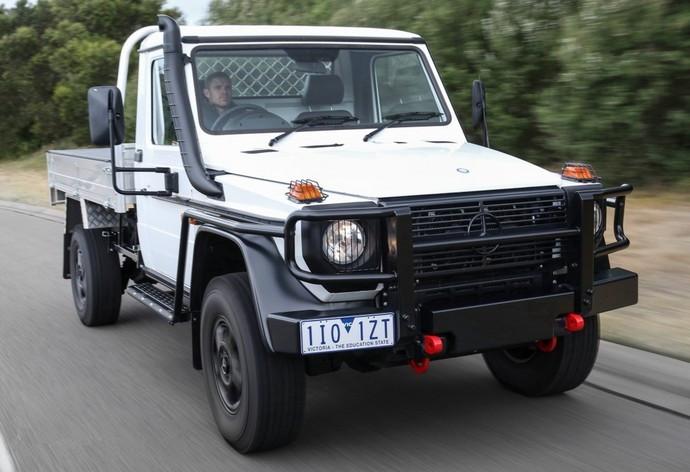 【高清圖】 豐田lc79要小心 奔馳g300 gdi皮卡發布圖3