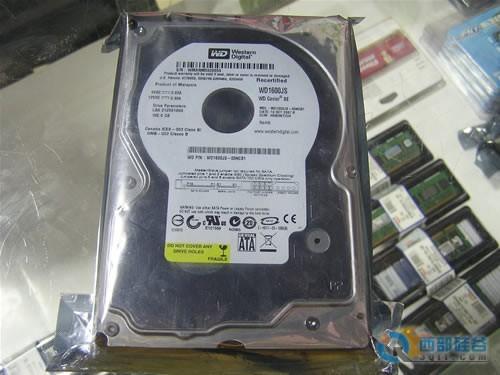 wd1600js硬盘接线图
