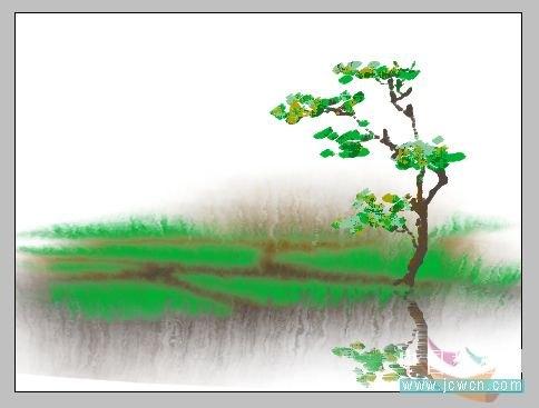 妙用photoshop制作水彩画的简单方法 (1/5)
