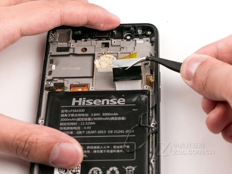 【高清图】 海信(hisense)双屏手机a2(全网通)拆机图 图48