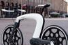 nCycle智能电动单车极简风
