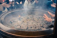 大C游世界 东京浅草寺内的樱花和烟火