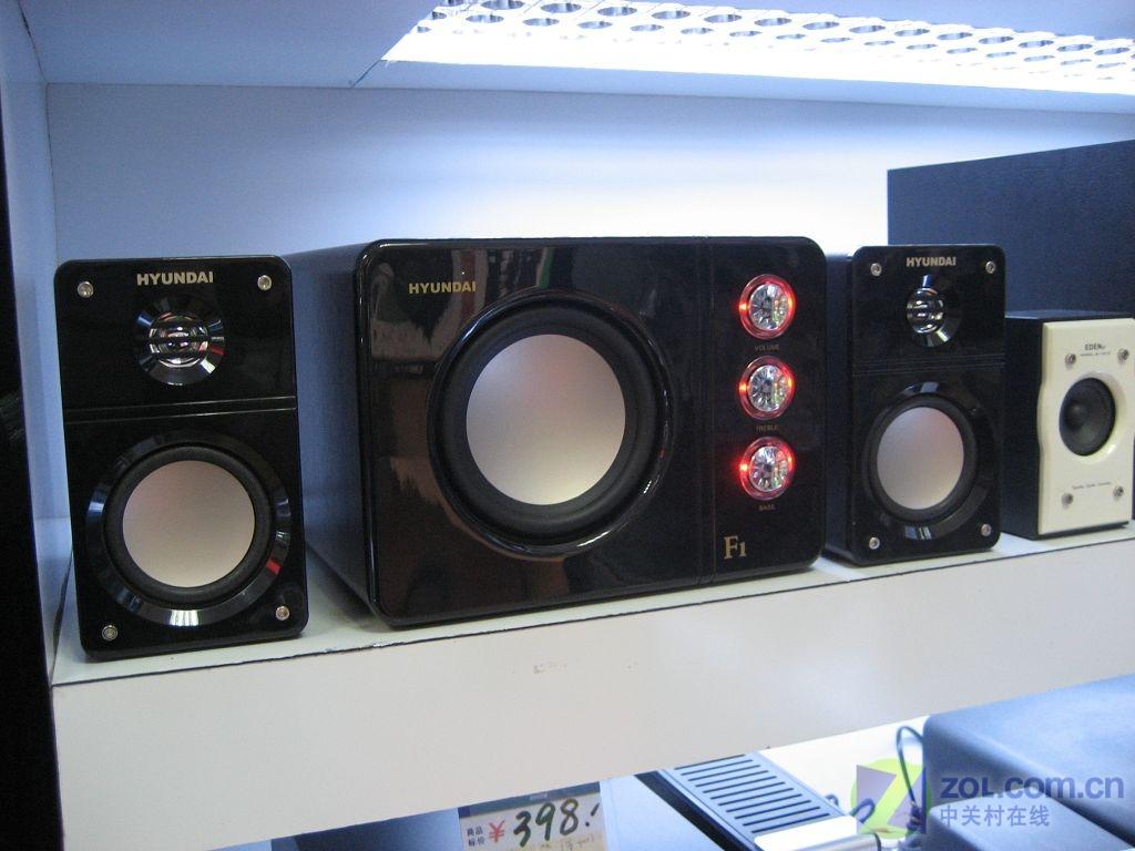 【高清图】 三分频设计 现代08版hy-480d音箱热销图1