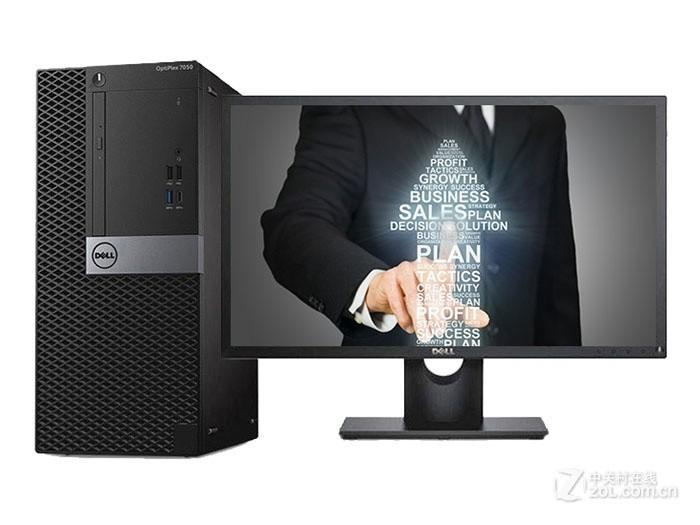 可装WIN7 的电脑戴尔 OptiPlex 7050MT(i7 7700/4GB/1TB/2G独显/21.5LCD)