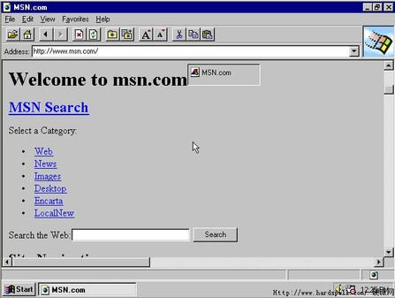 网虫必看 IE浏览器从1到7代发展回顾