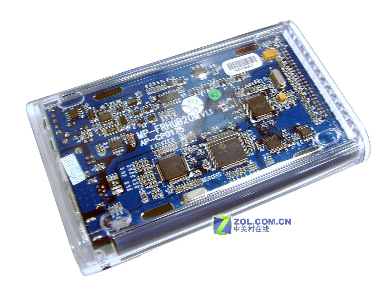 豪华usb/1394双接口移动硬盘盒细品