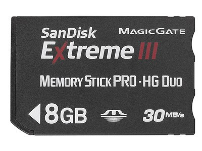 SanDisk Extreme III MS PRO-HG Duo(8GB)