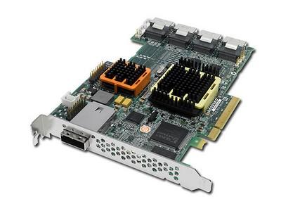 全新原装 Adaptec SAS RAID 卡 51245  12通道  接SAS/SATA硬盘