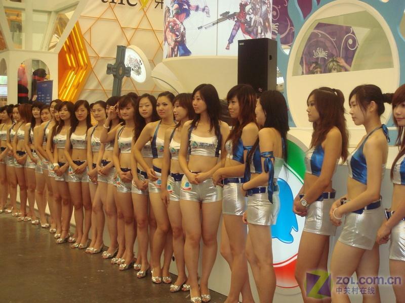 【高清图】chinajoy08:100多个美女曝光组图