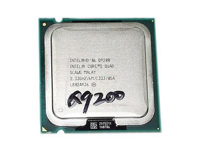 Intel 酷睿2四核 Q9200(散)