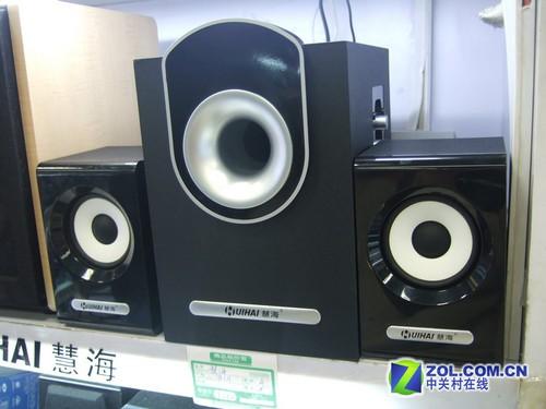 2.1纯木制经典款 慧海D-601音箱简评