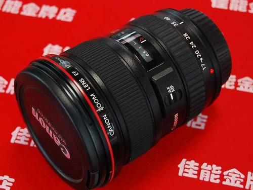 佳能EF 17-40mm f/4L USM评测