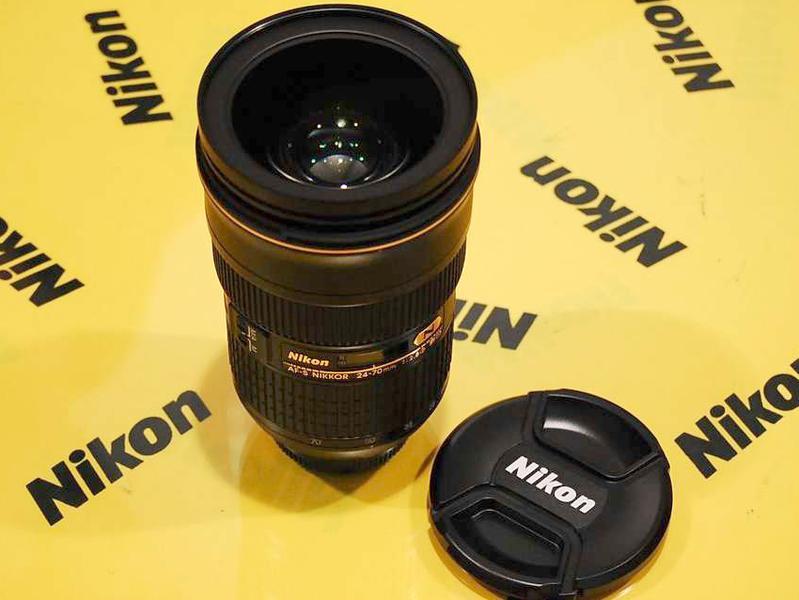 尼康顶级镜头 24-70 f2.8售价8399元