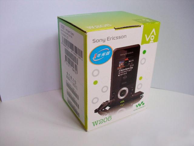 索尼爱立信 W205 ▓正品行货 附带发票 火爆促