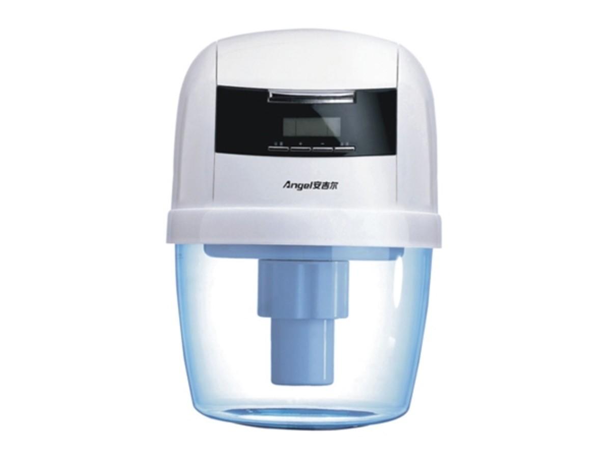 逆流净水流程技术   8)智能滤芯维护系统