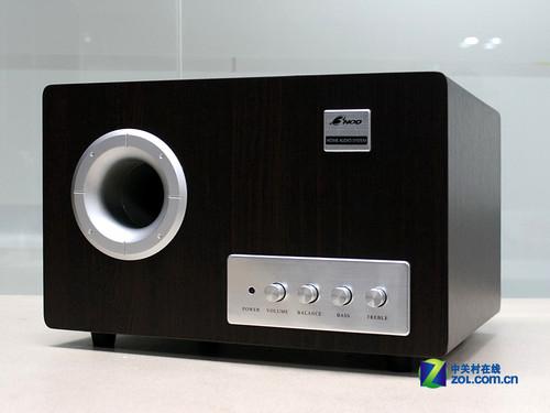 音质饱满均衡 三诺桌面2.1音箱280元