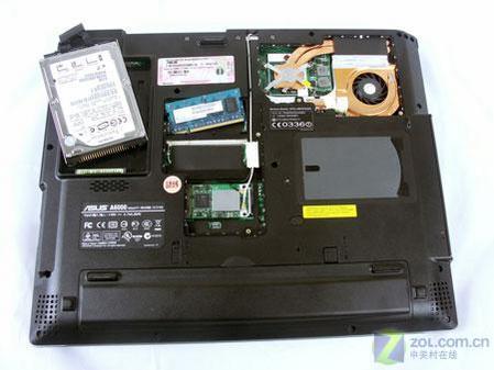 X1600独露配副核 华硕A6J笔记本评测