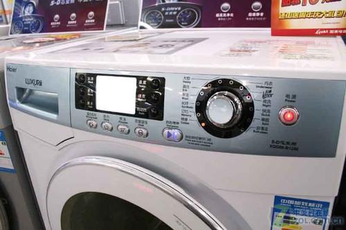 再多也能洗 海尔大容量洗衣机破六千