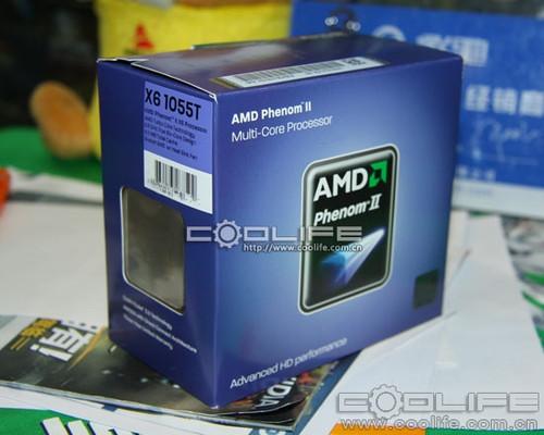羿龙II X6 1055T处理器开卖仅售1999元