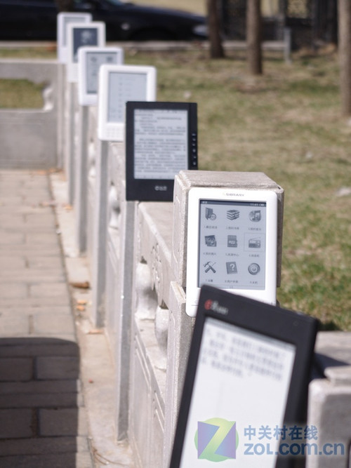 六款电子书图片显示效果横向评测