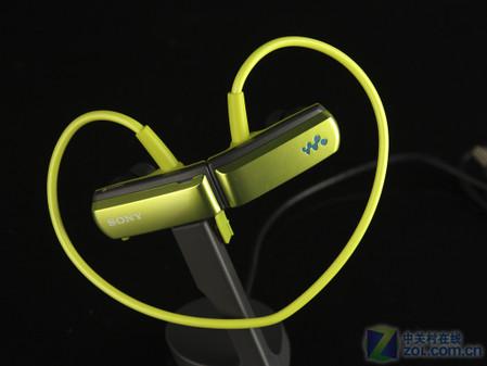 防滴溅心形耳挂MP3 索尼NWZ-W252首测