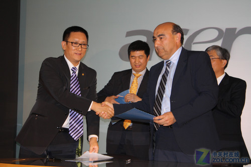 Acer与方正集团突然携手 疑似并购前战