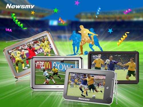 激情世界杯 CMMB手持电视装备大全