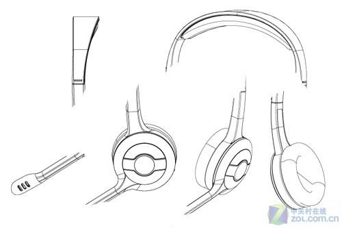 耳机设计方案草图