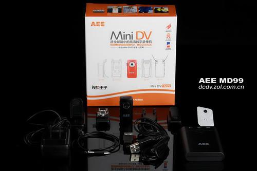 全球最小可拍照DV AEE MD99图赏