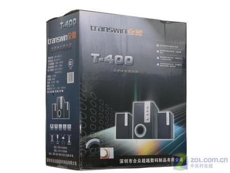 超低价三分频2.1音箱 全微 T400评测