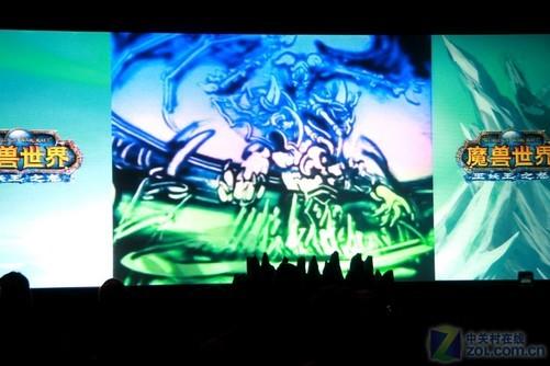 传说中的魔兽世界手绘表演