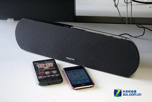 完美支持iPod!创新D200蓝牙音箱评测