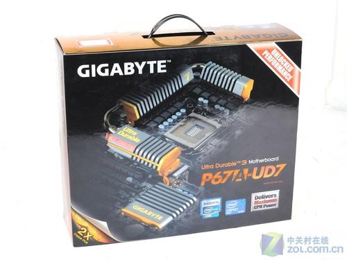 全国首发 技嘉全黑PCB P67A-UD7美图赏