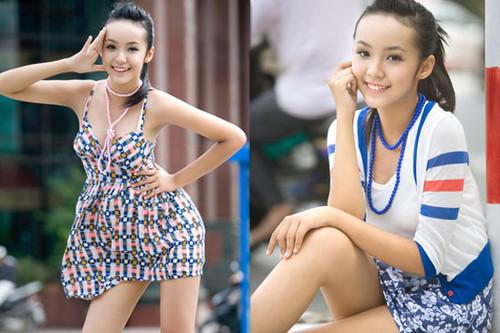 越南12岁嫩模性感火辣赶超越南妞