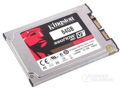 金士顿 SSDNow火山加强版V+ 1.8英吋(64GB)