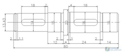 CAD教程浩辰CADv教程标注基本尺寸功2012cad尺寸标注快捷键图片