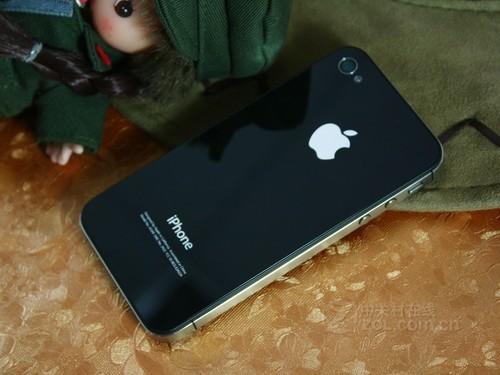苹果 iPhone 4 黑色 背面图