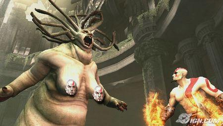 满载成人要素 PS2《战神2》新画面公布