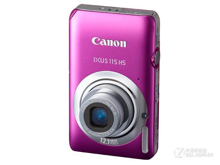 佳能 canon ixus115 hs粉色图片欣赏 第8张 zol中关村在线高清图片