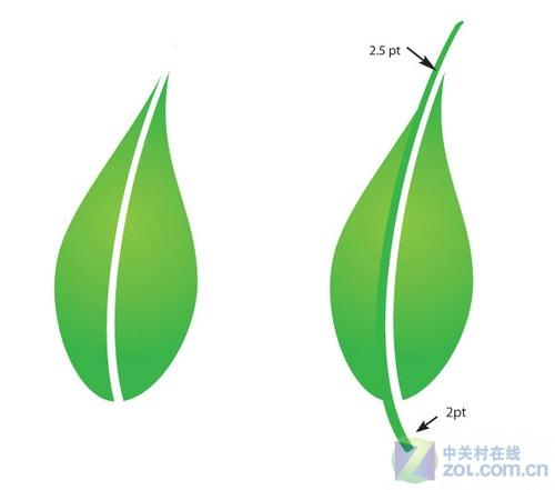 ai创作自然景观矢量图封面-用ai绘制竹子图片