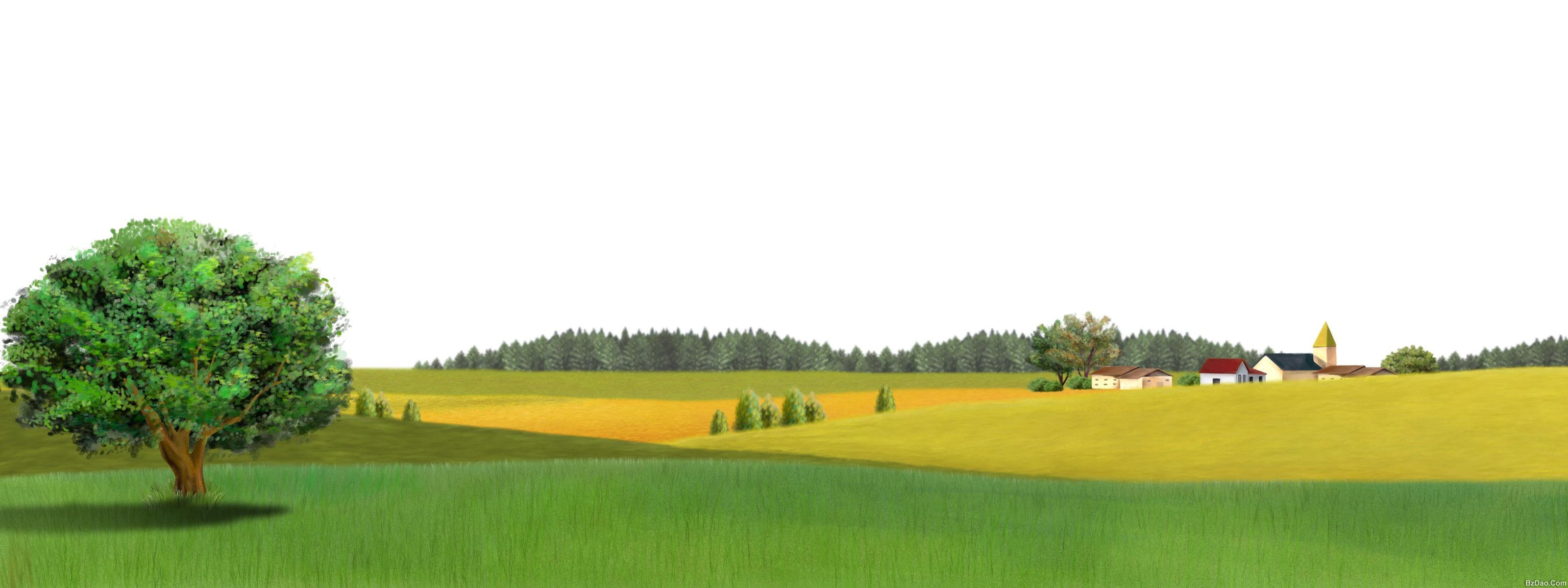 ps手绘风景 风景520