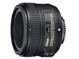尼康AF-S 50mm f/1.8G整体外观图