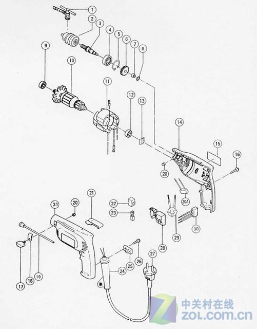 相信电动工具的选购是刚接触MOD的玩家最头疼的事之一了。确实,各种电动工具,种类繁多,用途各异,品牌更是琳琅满目,但质量确也是良莠不齐。那么,究竟如何才能挑选到一把好用的电动工具呢? MOD过程中常用的电动工具主要有这几种: 1. 电磨:拥有切、削、磨、刨、钻等功能的电磨,可谓是MOD过程中用到的最重要的工具之一了。 标准的电磨拥有稳定性好、精度高、同轴度高等特点。市面上也有销售一部分电钻夹头的电磨,这种地按摩的好处是可以装更大口径的刃具,但同时也是他的缺点因为夹头的问题,同轴度稍低,并且使用过程中刃具