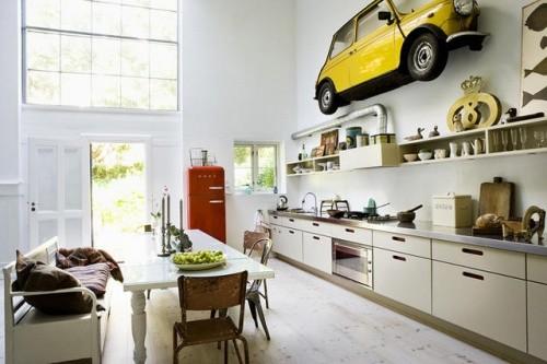 生活新方式 20款开放式厨房餐厅设计