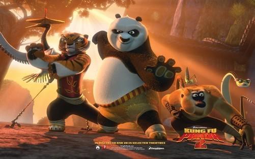 过亿票房大片 《功夫熊猫2》高清壁纸