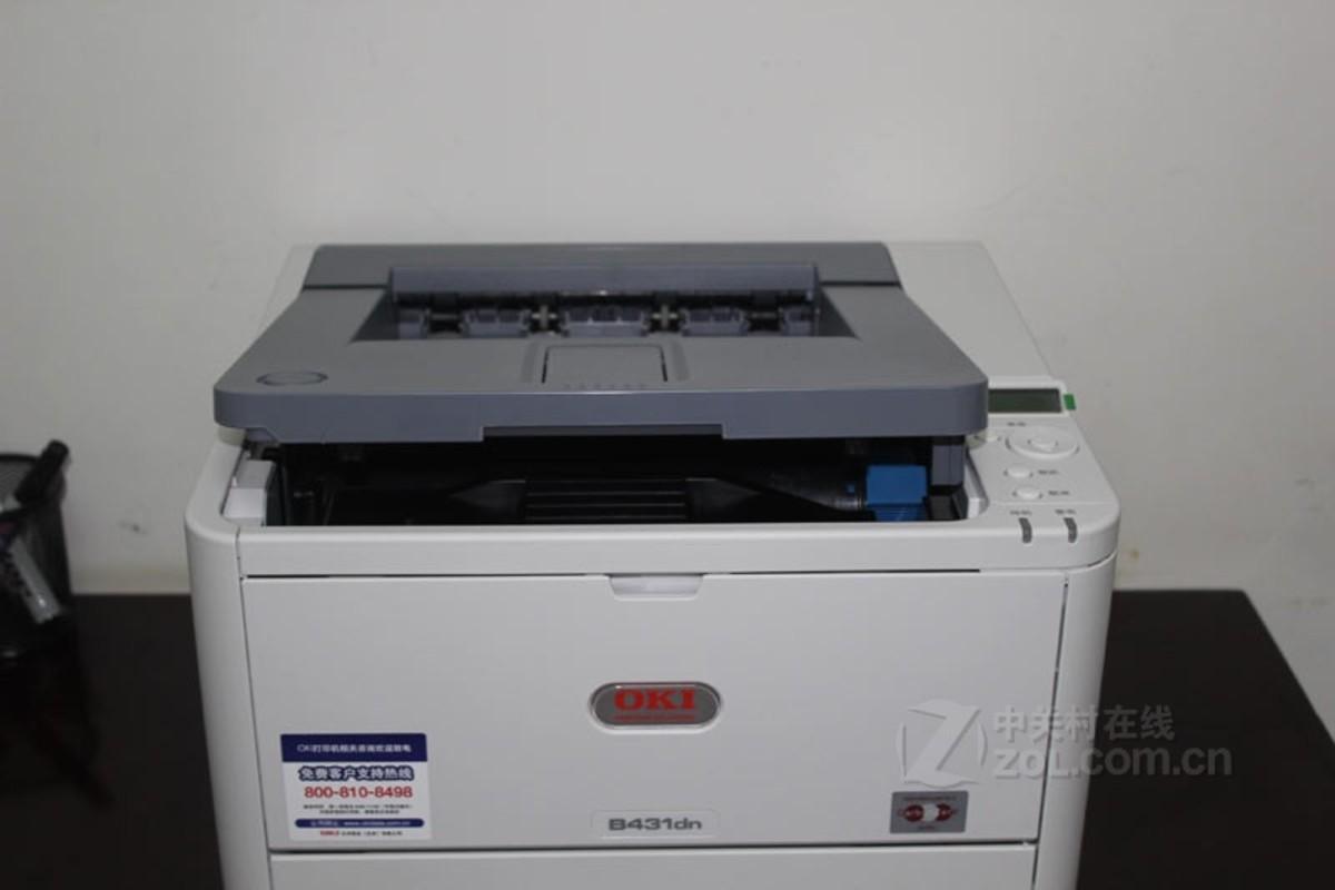 我用的是四通oki 5530sc针式打印机,打印时提示正在打印,但就是不打印