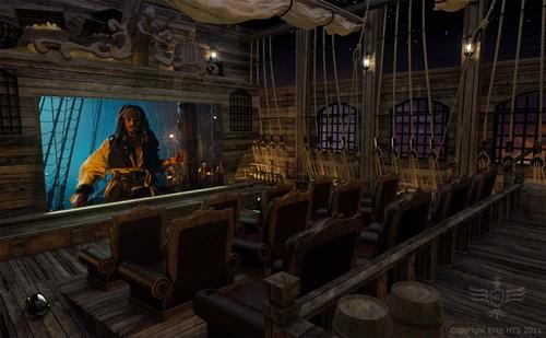 加勒比海盗风格装修设计图